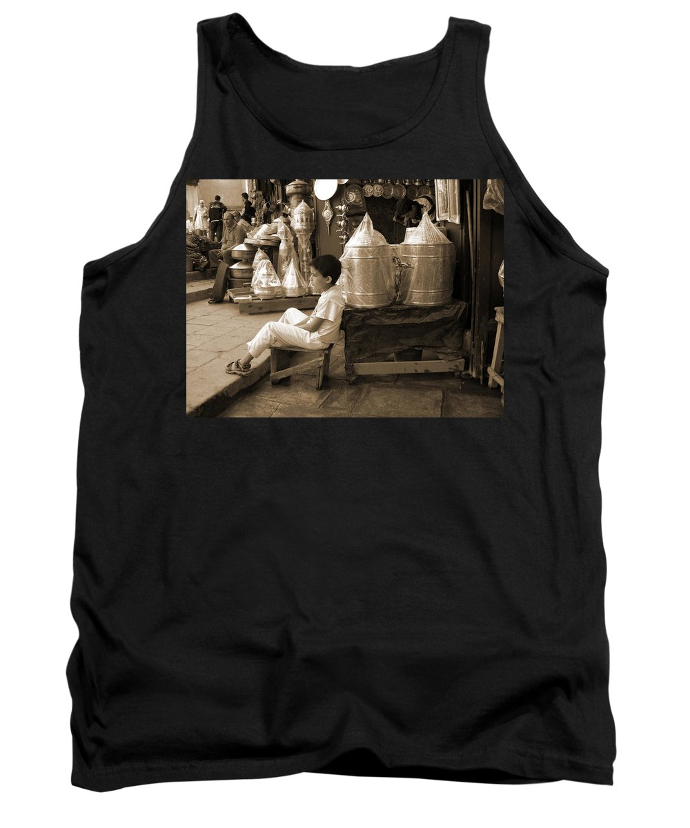 Boy Tank Top featuring the photograph Brassed Off. by Fay Lawrence