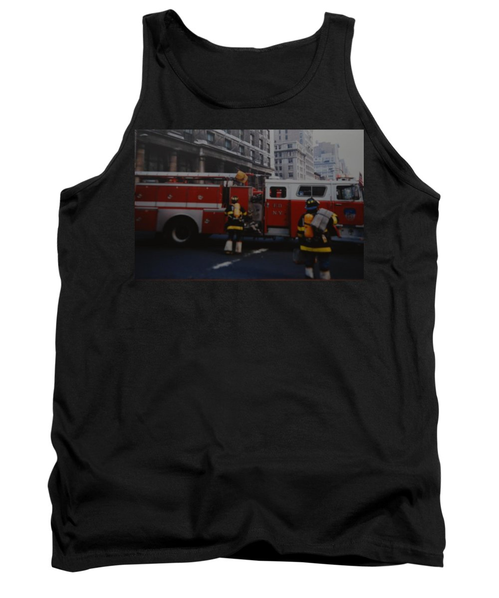 Fdny Tank Top featuring the photograph Bravest Of The Brave by Rob Hans