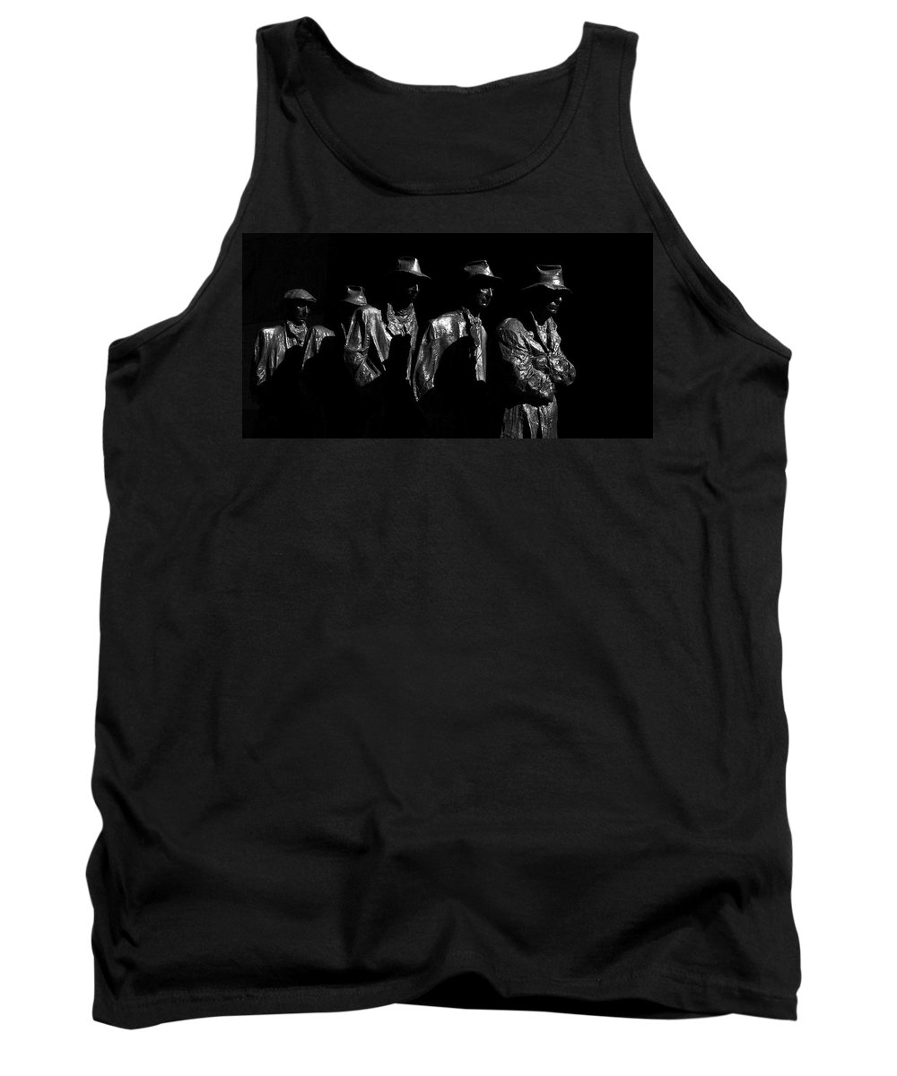 Bread Line Tank Top featuring the photograph Bread Line by Guy Shultz