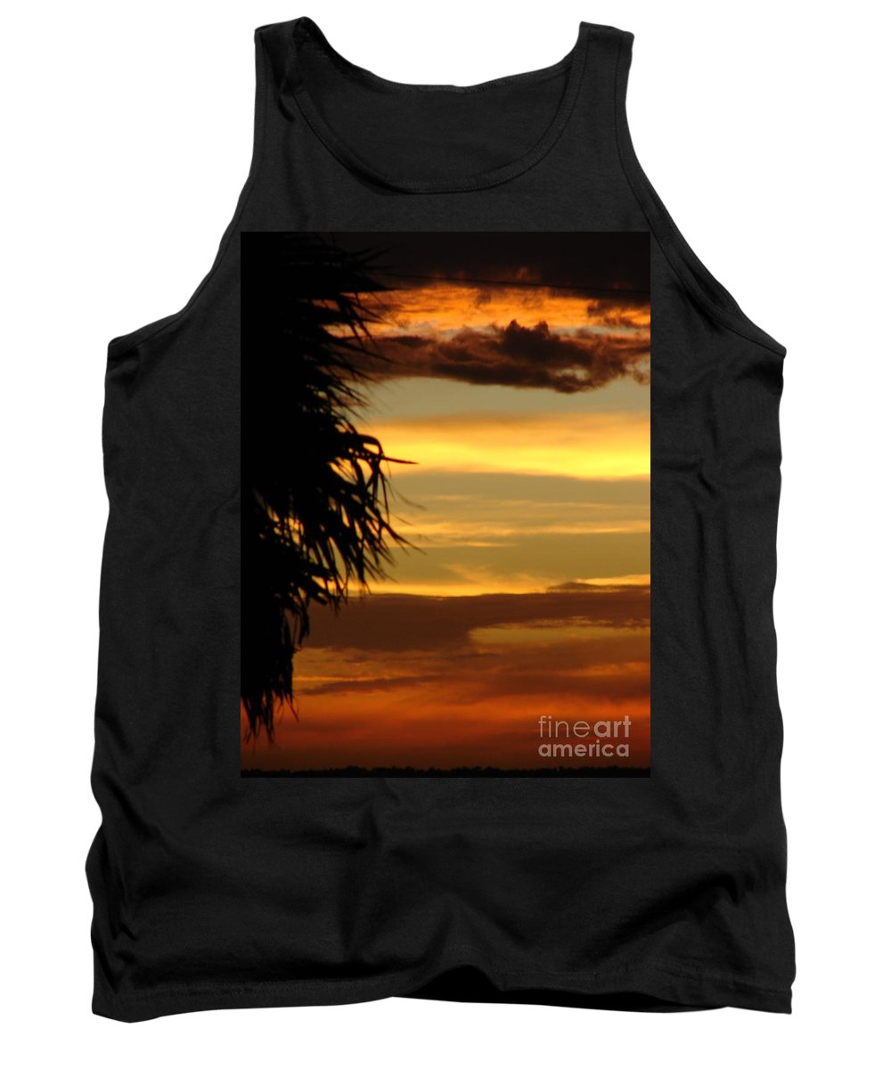 Symbolic Tank Top featuring the photograph Breaking Dawn by Priscilla Richardson