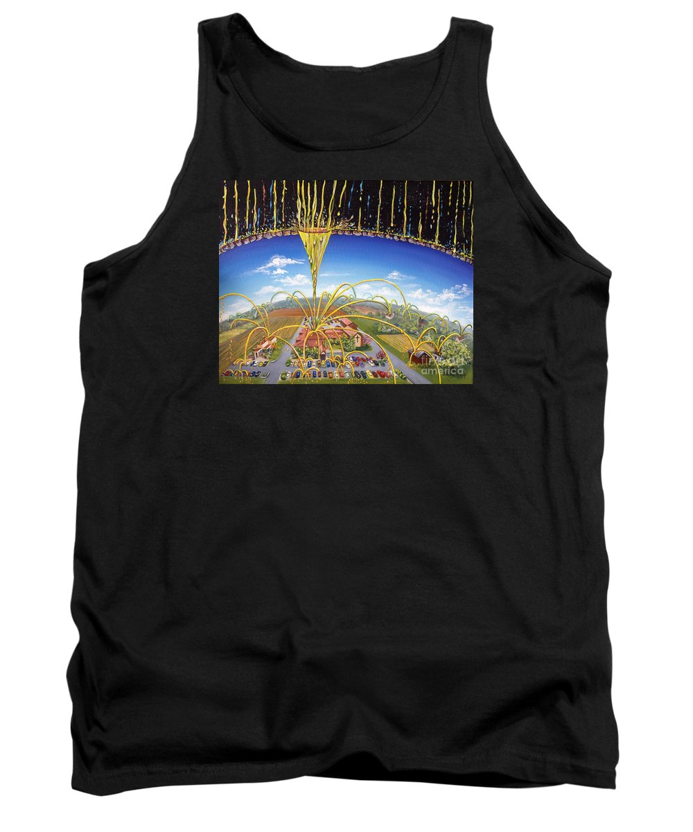 Jesus Tank Top featuring the painting Breakthrough by Nancy Cupp