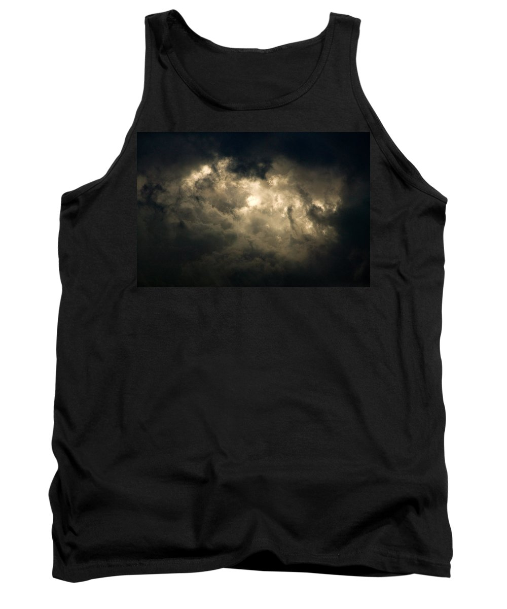 Cloud Tank Top featuring the photograph Breakthrough by Randall Ingalls