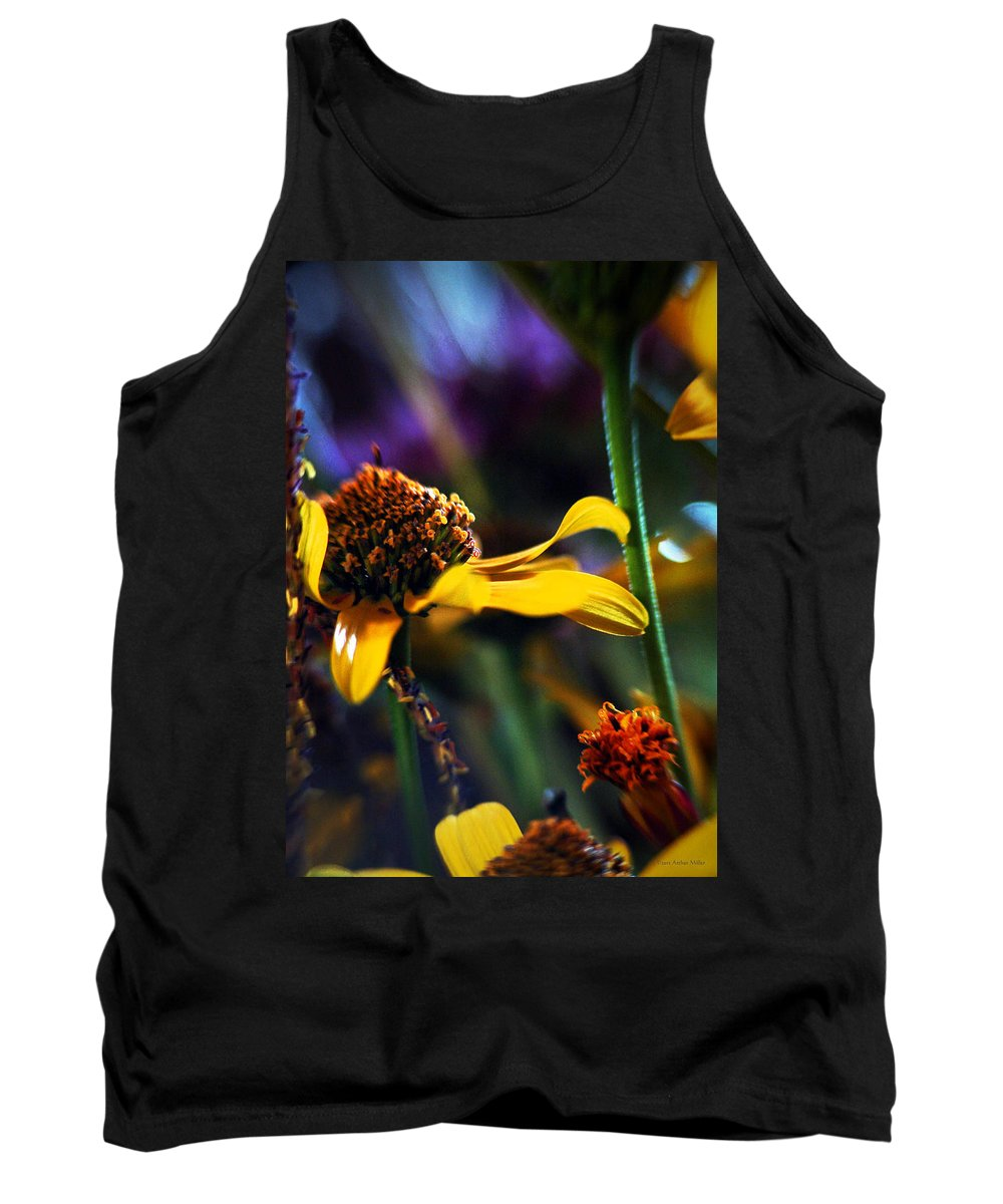 Flowers Tank Top featuring the photograph Breeze... by Arthur Miller