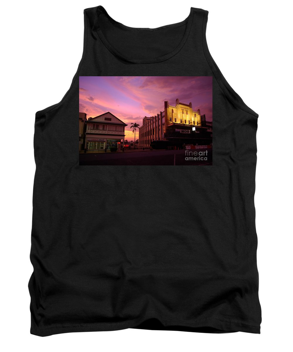 Evening Tank Top featuring the photograph Brewing Storm by Kerryn Madsen- Pietsch