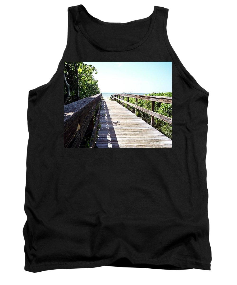 Florida Tank Top featuring the photograph Bridge To Paradise Gp by Chris Andruskiewicz
