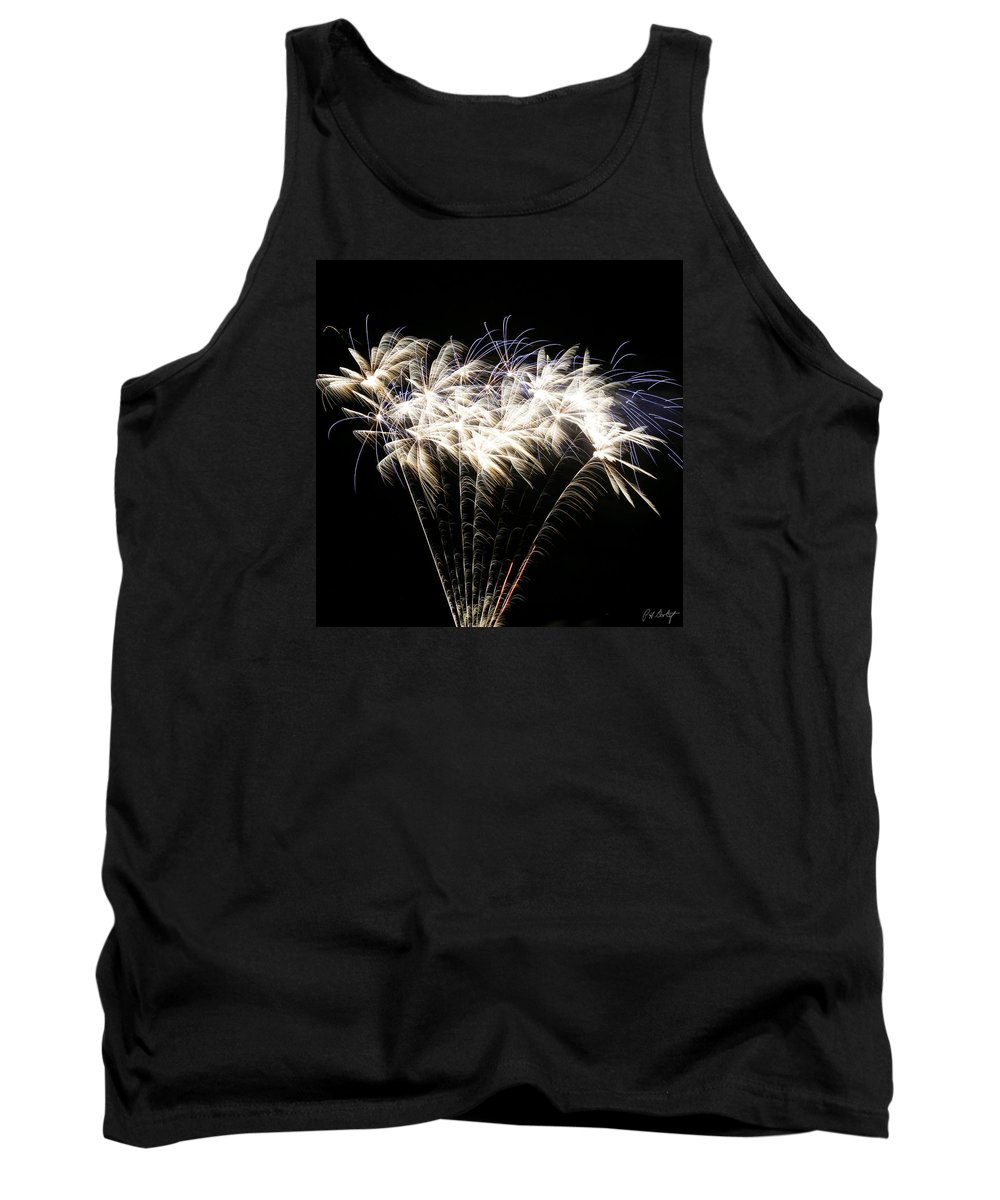 July 4th Tank Top featuring the photograph Bright Lights by Phill Doherty