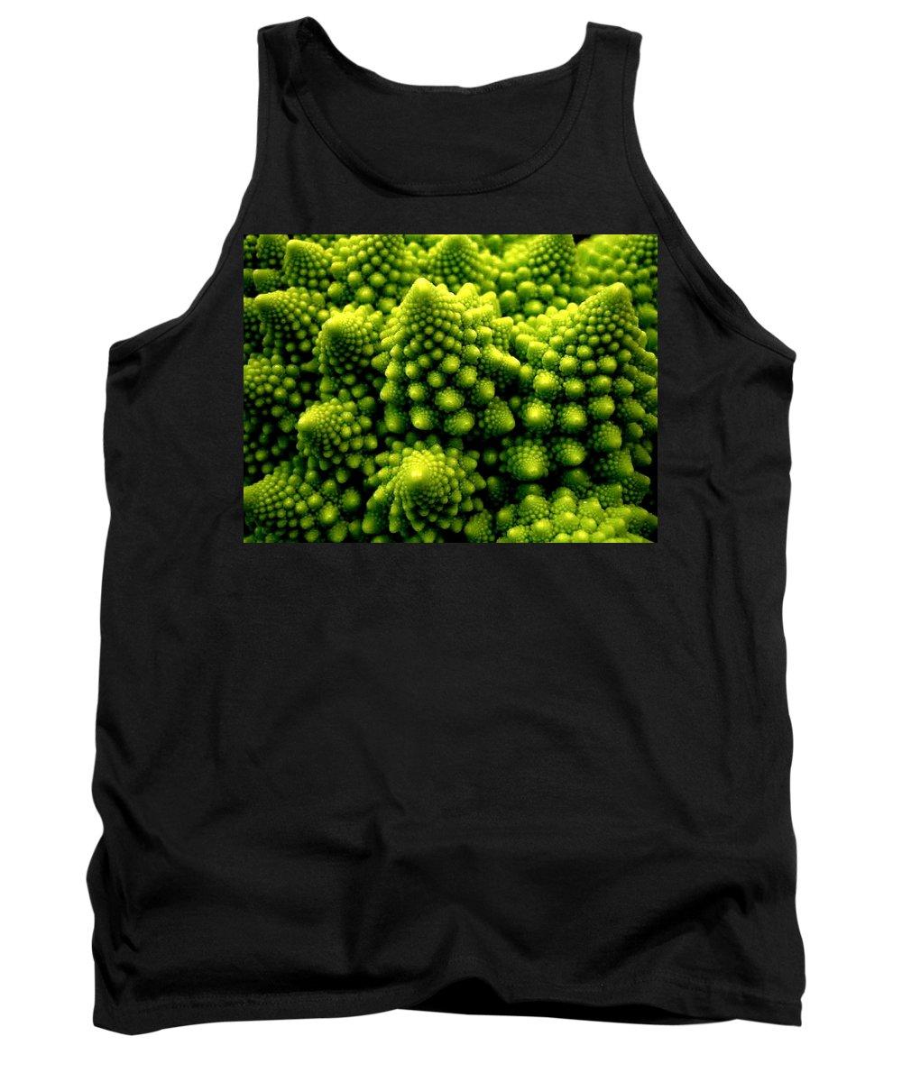 Broccoli Tank Top featuring the photograph Broccoli by Dragica Micki Fortuna