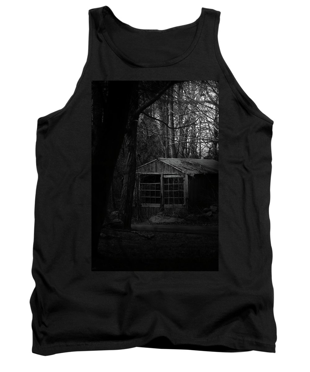 Country Tank Top featuring the photograph Broken by Karol Livote