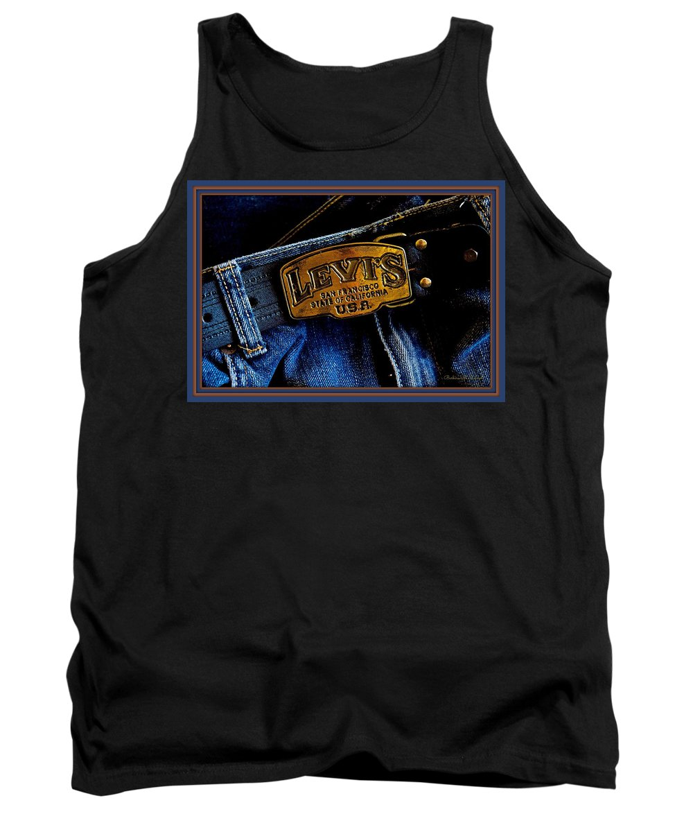 Buckle Tank Top featuring the photograph Buckled Up by Barbara Zahno