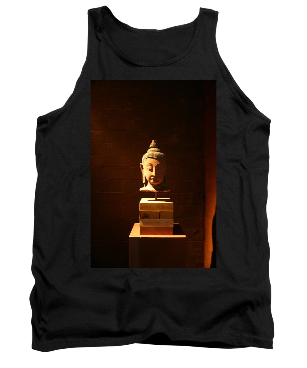 Buddhism Tank Top featuring the photograph Buddhism In Belgium by Minaz Jantz