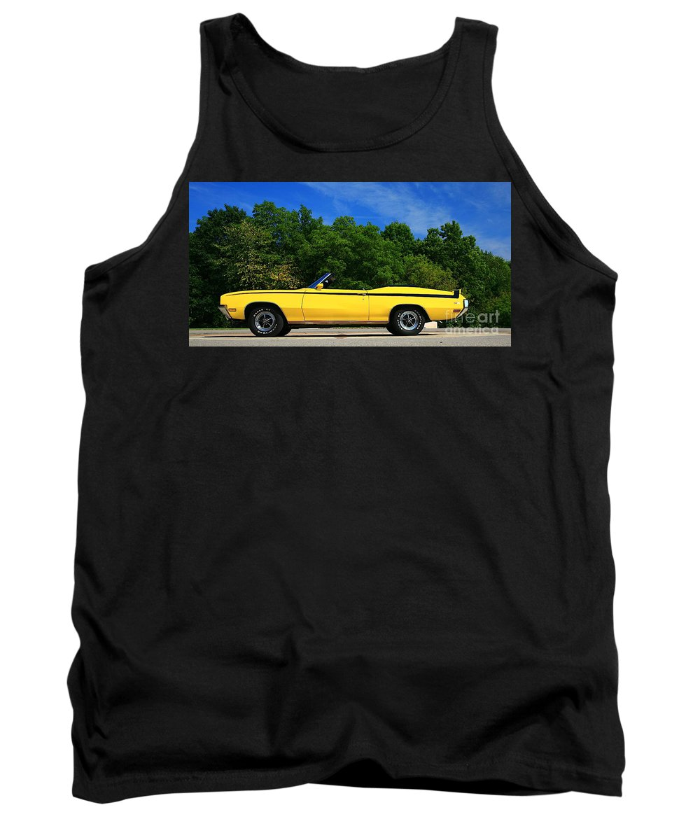 Car Tank Top featuring the photograph Buick Gsx by Robert Pearson