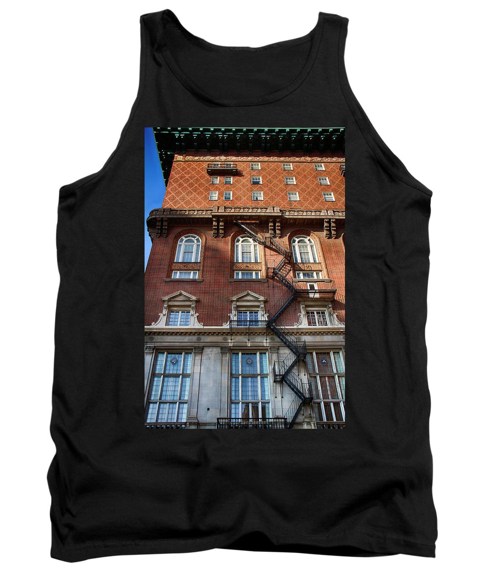 Architecture Tank Top featuring the photograph Bygone Era by Debby Richards