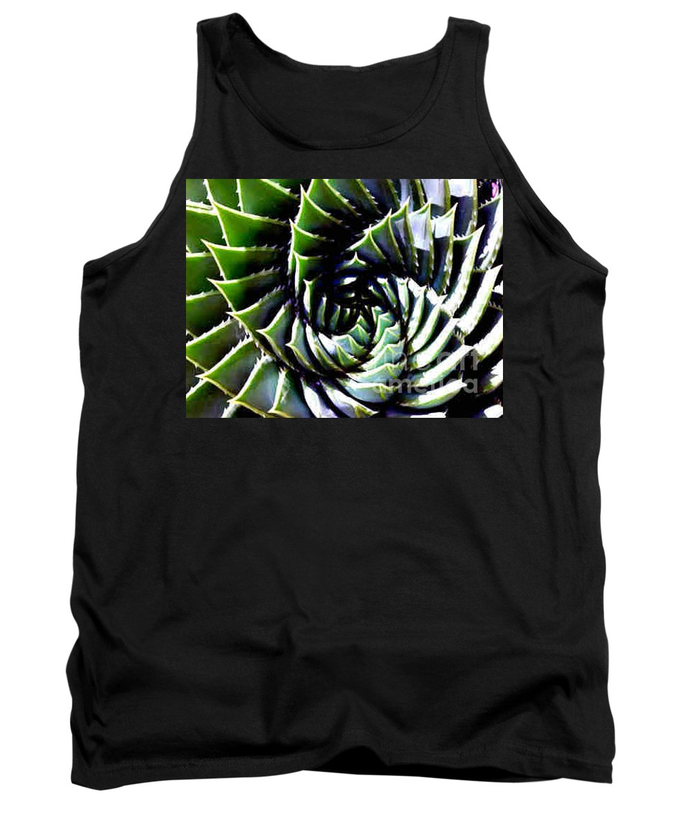 Cactus Tank Top featuring the photograph Cactus by Dragica Micki Fortuna