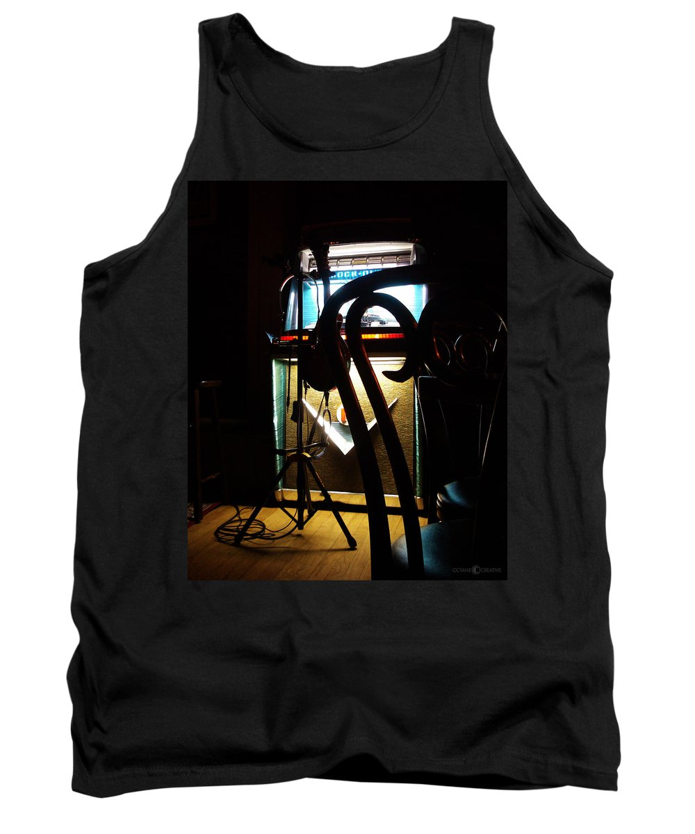Music Tank Top featuring the photograph Canned Music by Tim Nyberg