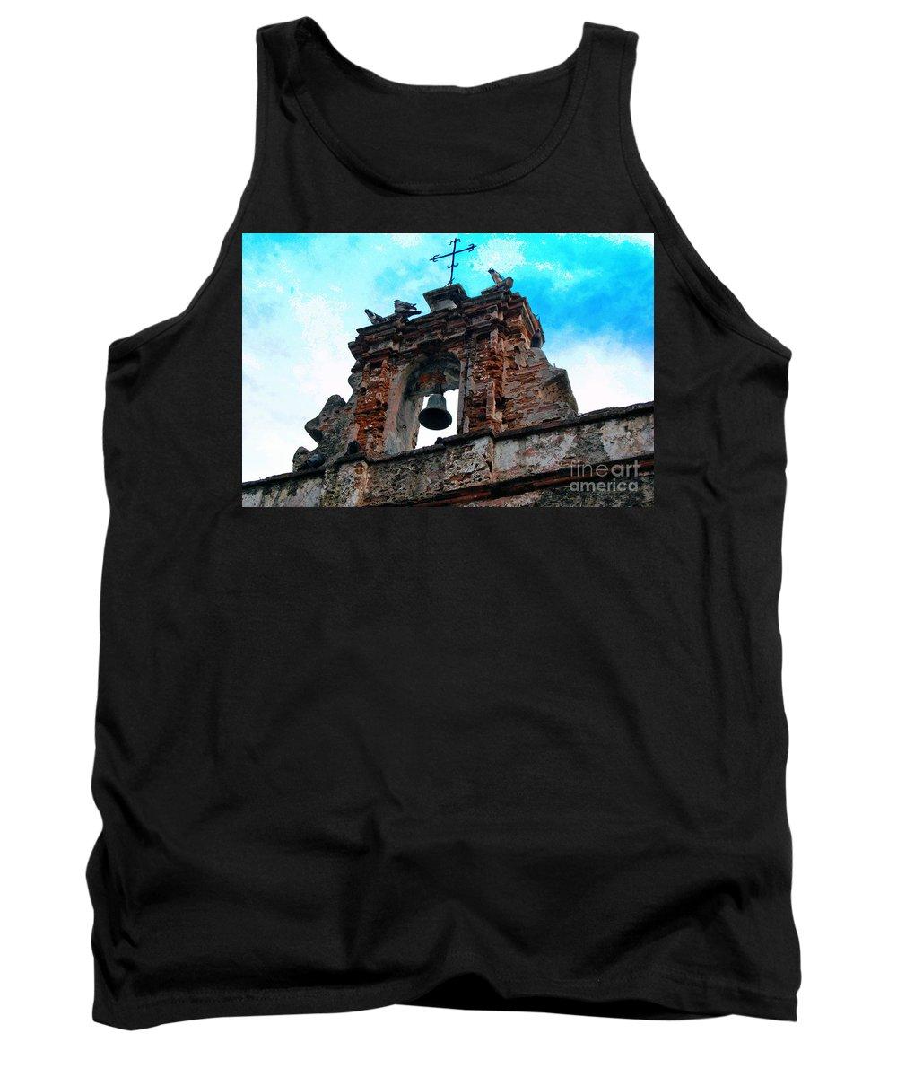 San Juan Tank Top featuring the photograph Capilla De Cristo  by Debbi Granruth