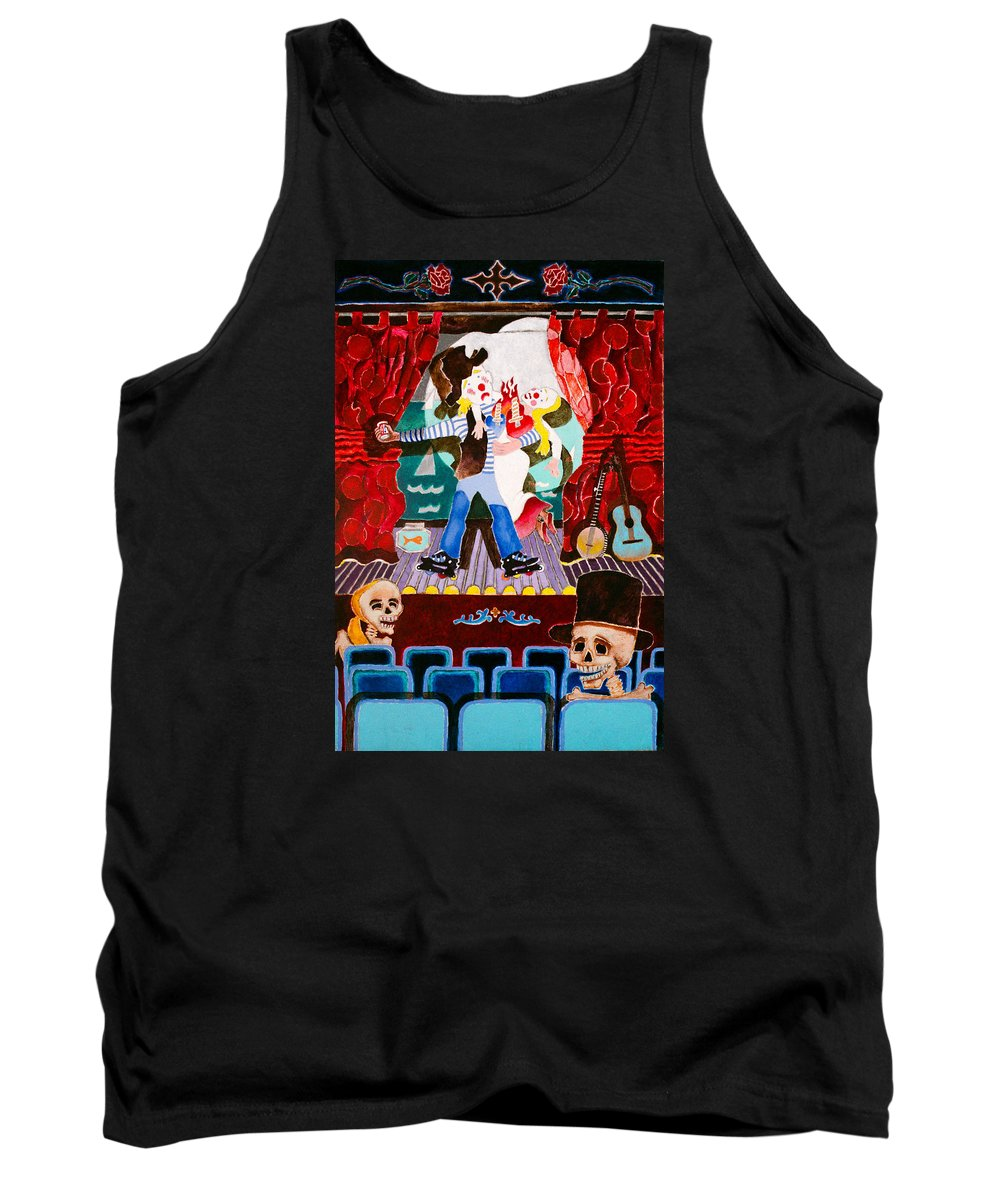 Humor Tank Top featuring the painting Caprice by Sharron Loree