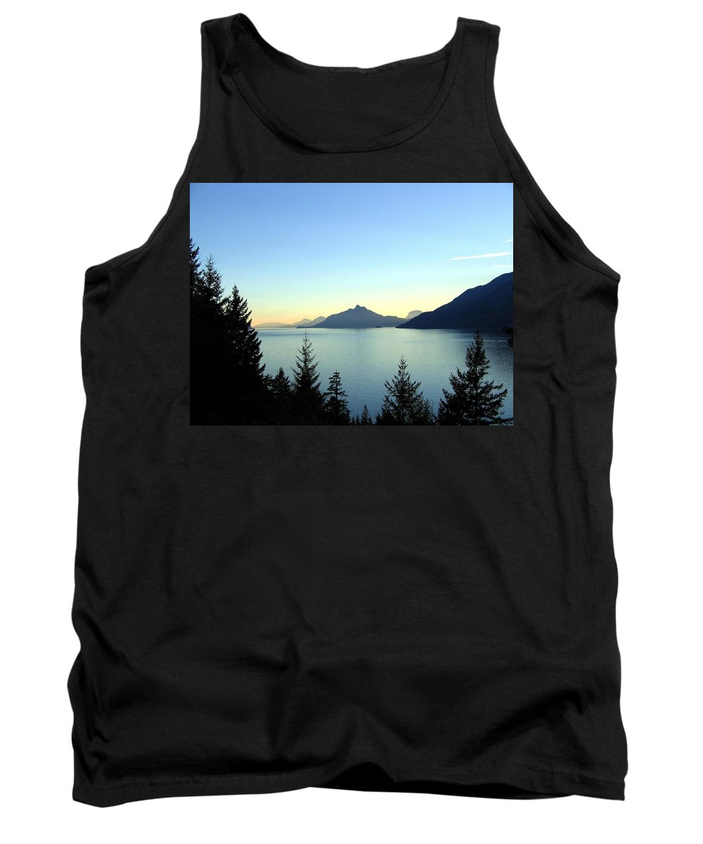 Howe Sound Tank Top featuring the photograph Captivating Howe Sound by Will Borden