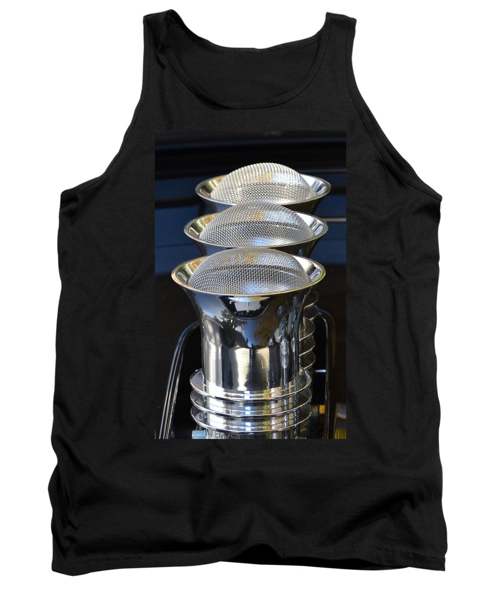 Tank Top featuring the photograph Carb Inlets by Dean Ferreira