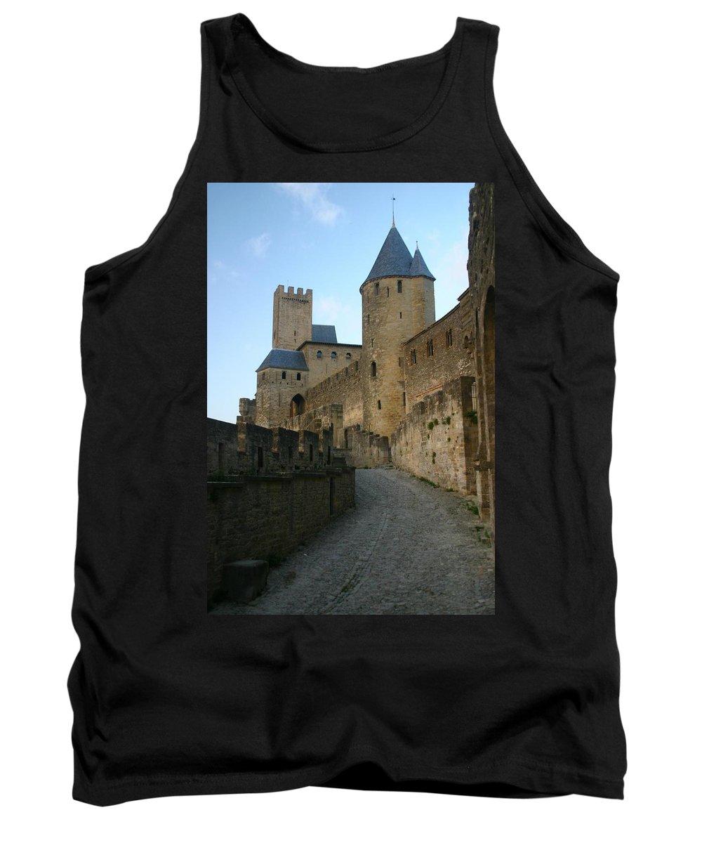 Castle Tank Top featuring the photograph Carcassonne Castle by Minaz Jantz