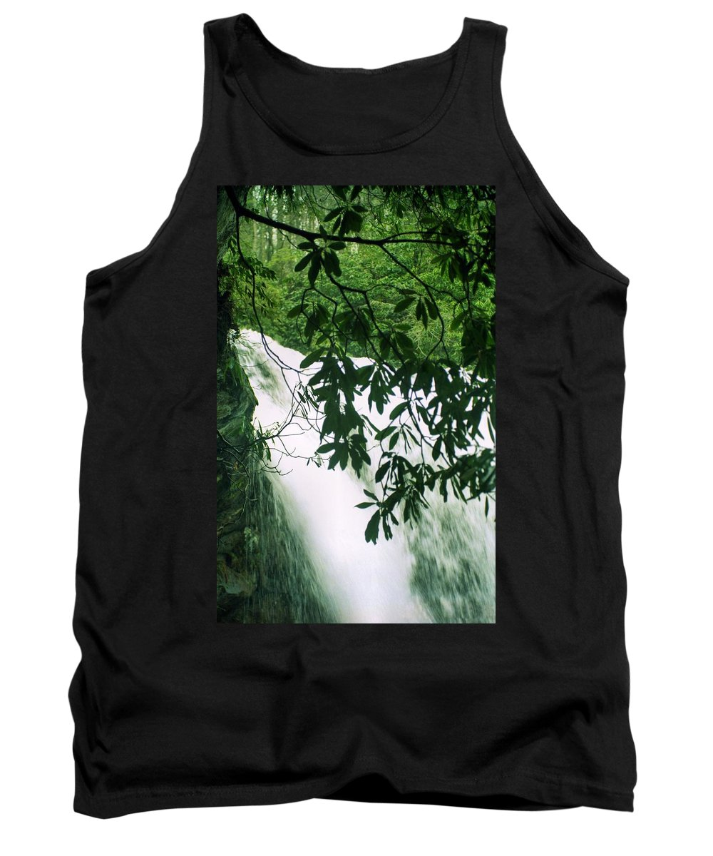 Waterfalls Tank Top featuring the photograph Cascade by Richard Rizzo