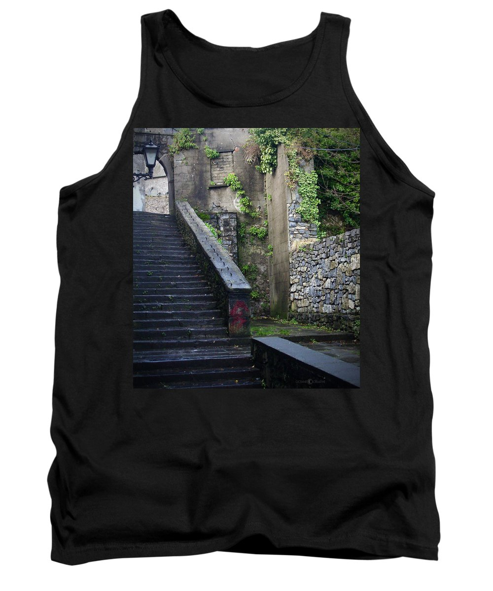Stairs Tank Top featuring the photograph Cathedral Stairs by Tim Nyberg