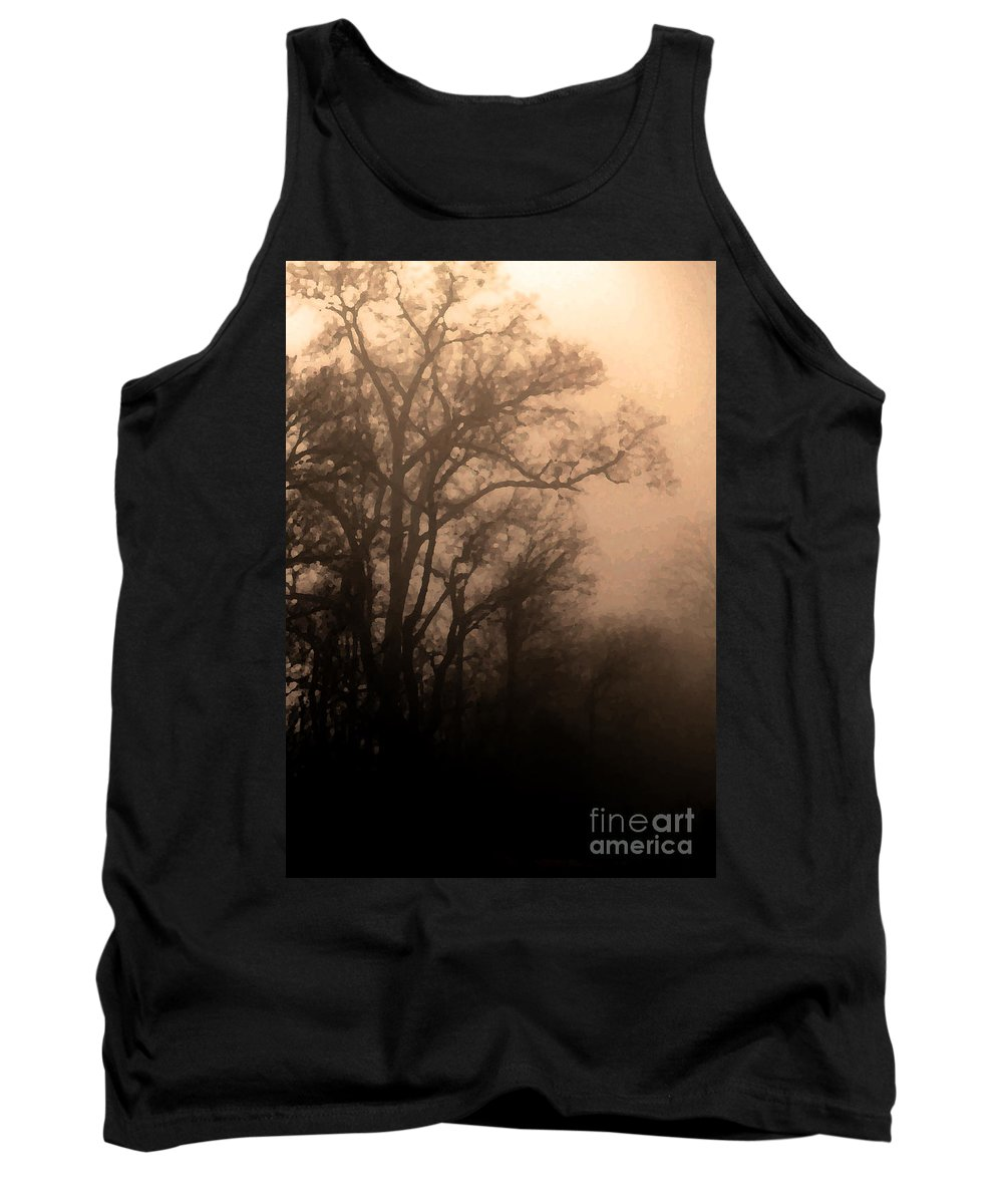 Soft Tank Top featuring the photograph Caught Between Light And Dark by Amanda Barcon