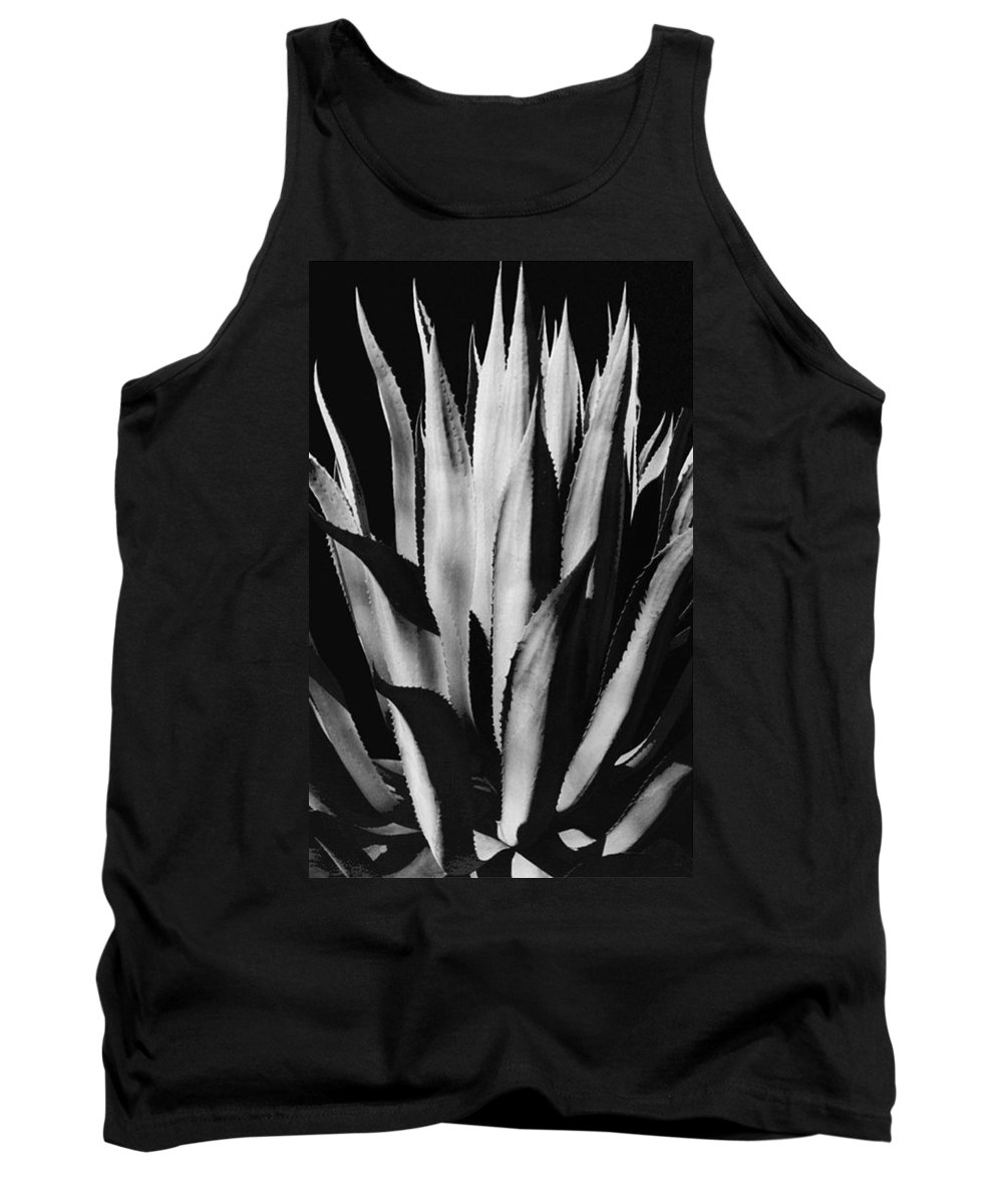 Plants Of The Southwest Tank Top featuring the photograph Century Plant by Jim Smith