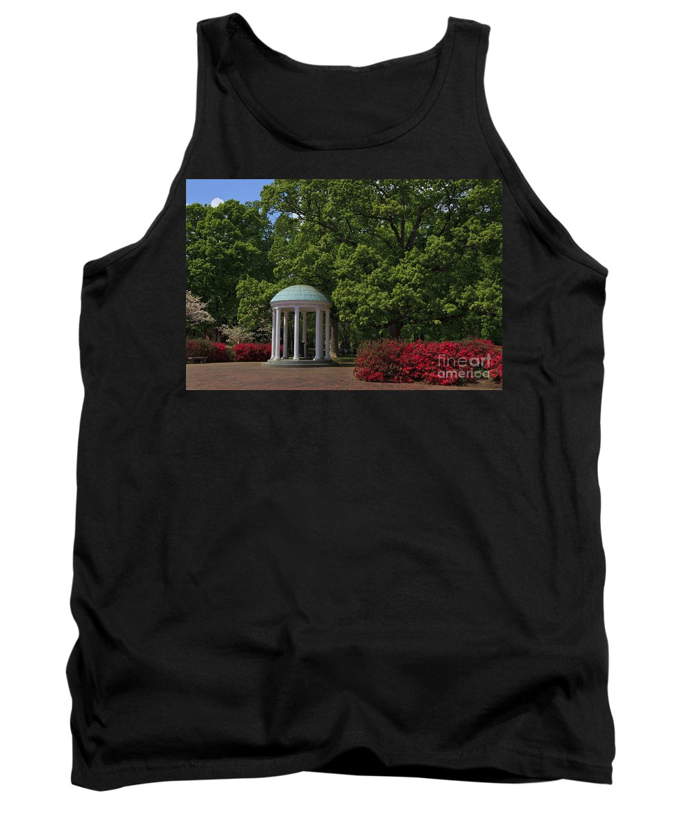 The Tank Top featuring the photograph Chapel Hill Old Well by Jill Lang