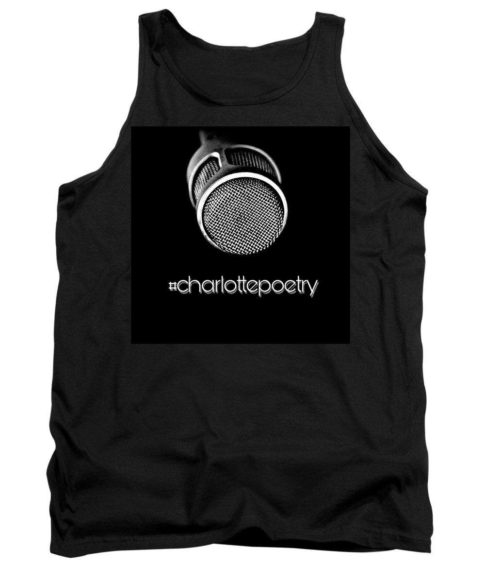 Charlotte Tank Top featuring the digital art #charlottepoetry Photo Poster Art by Foster Cameron Hunter