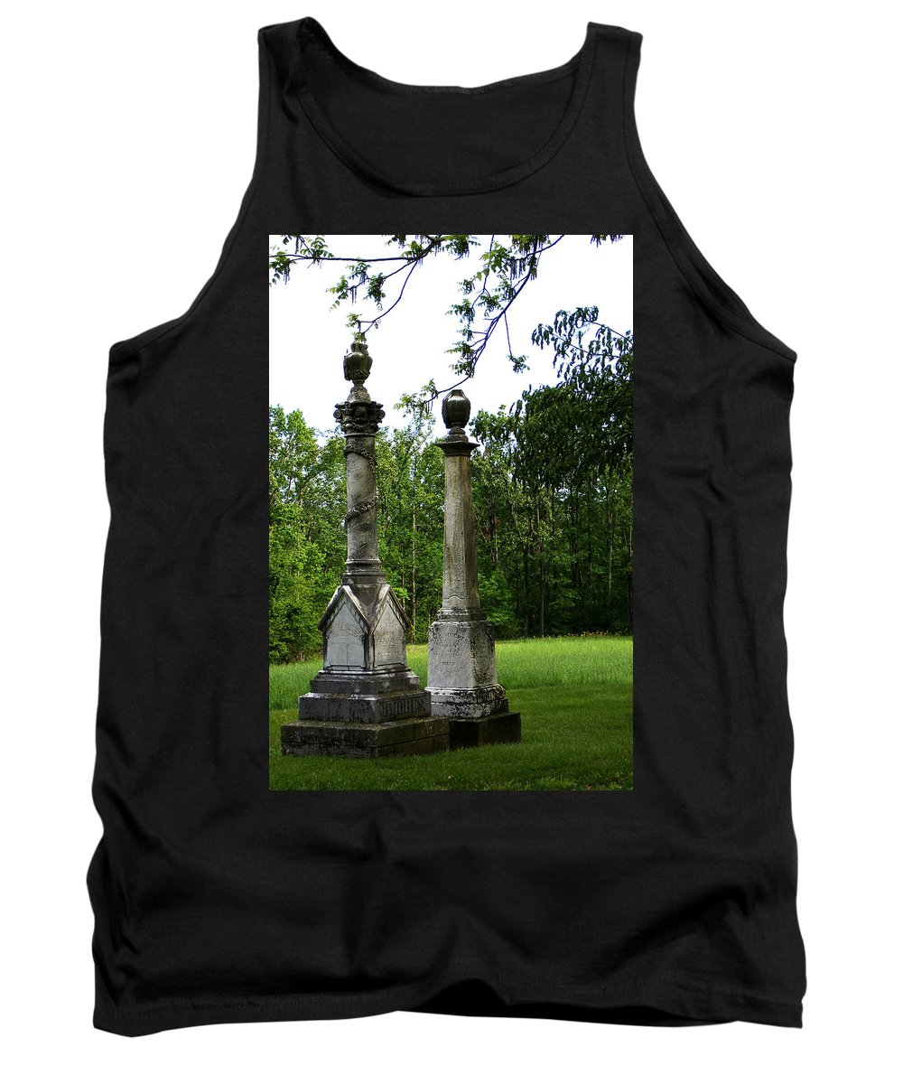 Landscape Tank Top featuring the photograph Chess Game by Rachel Christine Nowicki