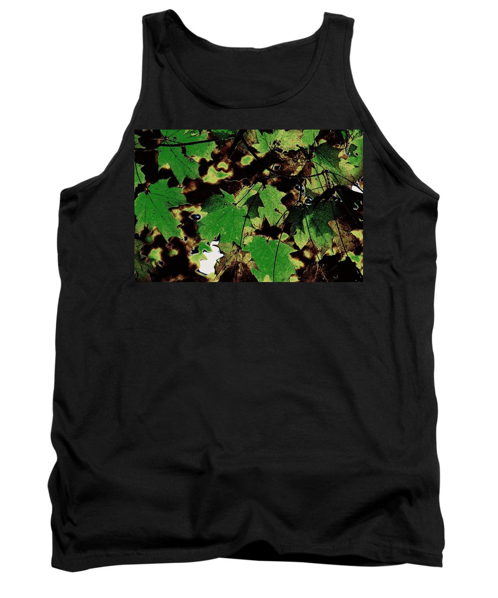 Landscape Tank Top featuring the photograph Chocolate Pudding by Ed Smith