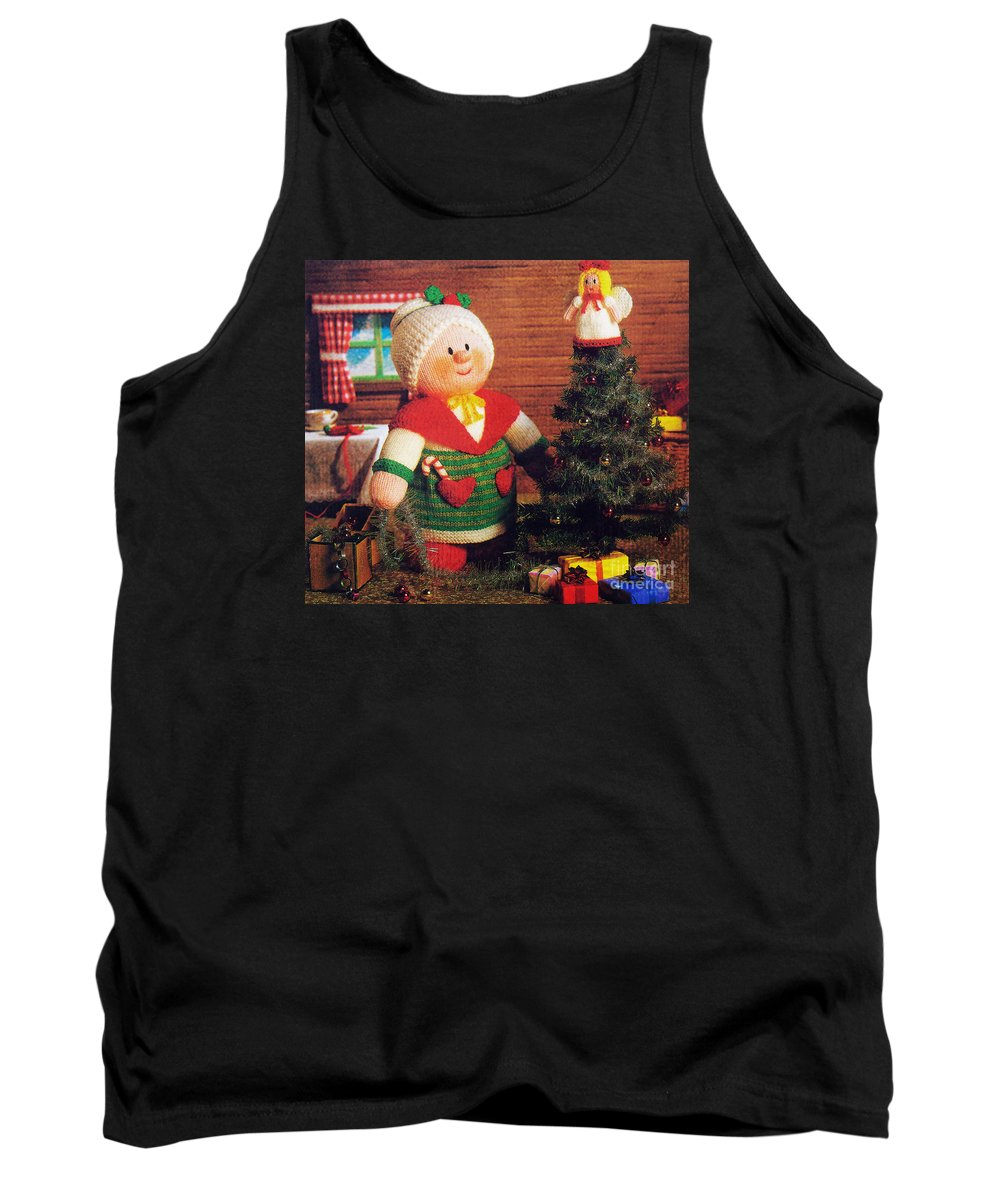 Angel Tank Top featuring the photograph Christmas by Sara