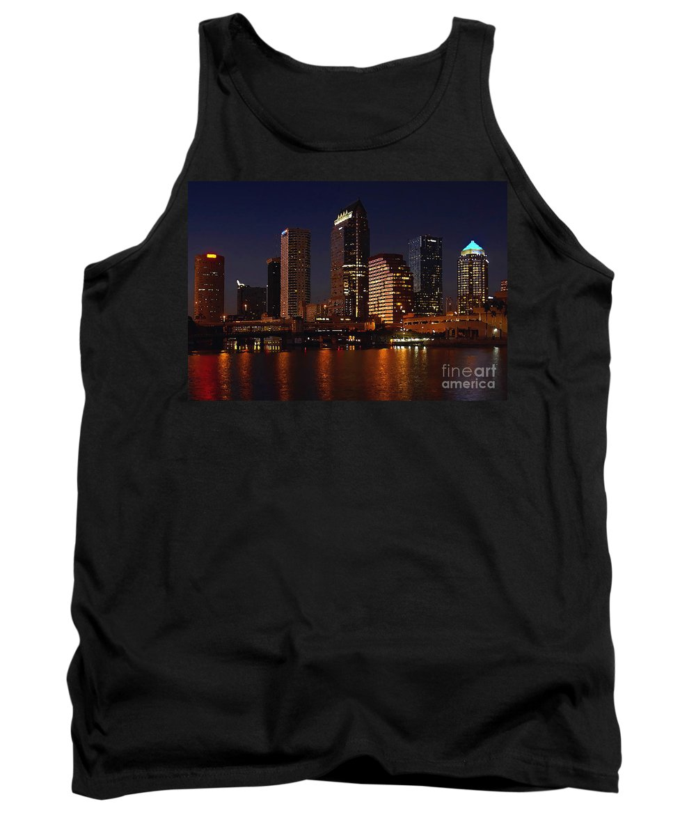 Tampa Florida Tank Top featuring the photograph Cigar City by David Lee Thompson