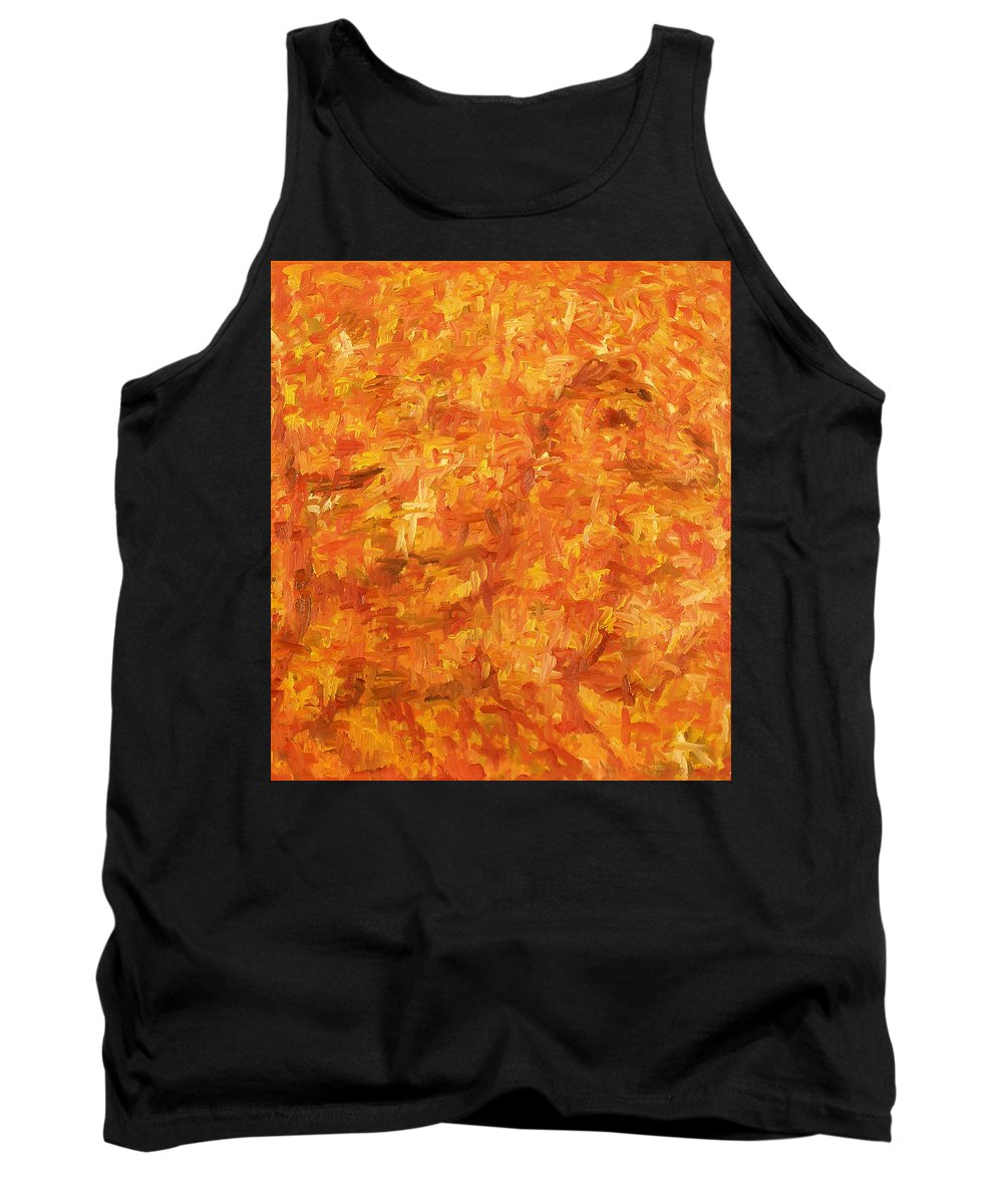 Pony Tank Top featuring the painting Circus by Robert Nizamov
