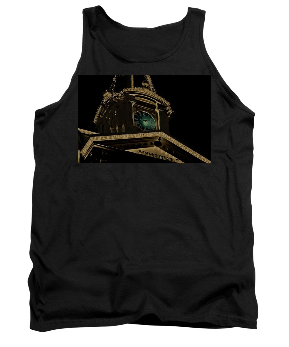 City Hall Tank Top featuring the photograph City Hall by Robert Meanor