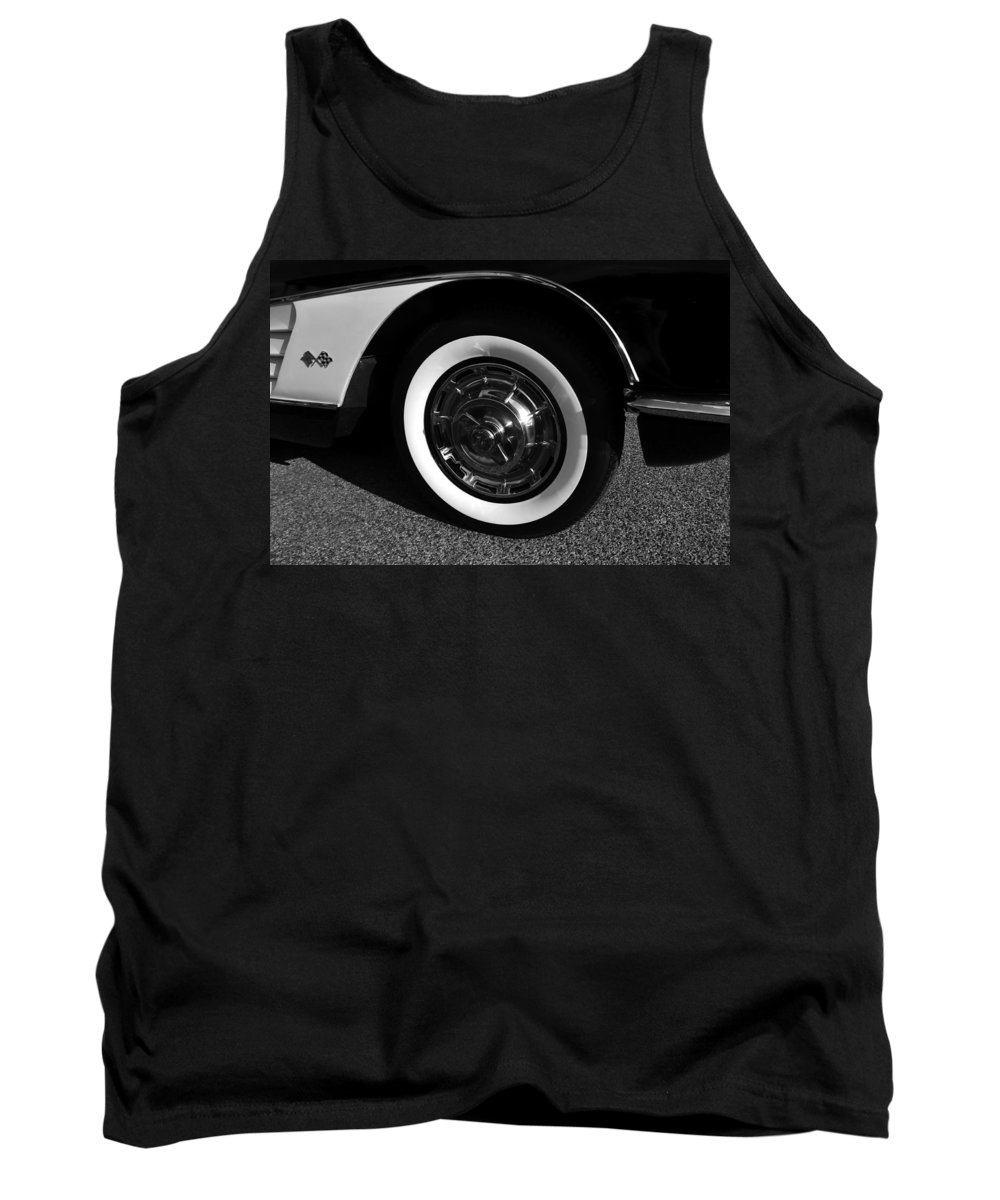 Fine Art Photography Tank Top featuring the photograph Classic Corvette Lines by David Lee Thompson