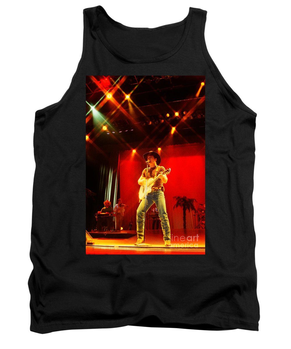 Clint Black Tank Top featuring the photograph Clint Black-0812 by Gary Gingrich Galleries