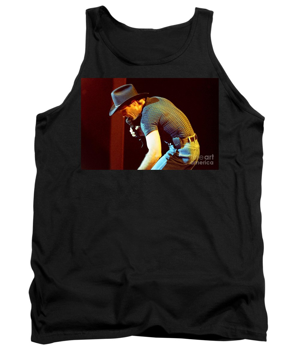 Clint Black Tank Top featuring the photograph Clint Black-0837 by Gary Gingrich Galleries