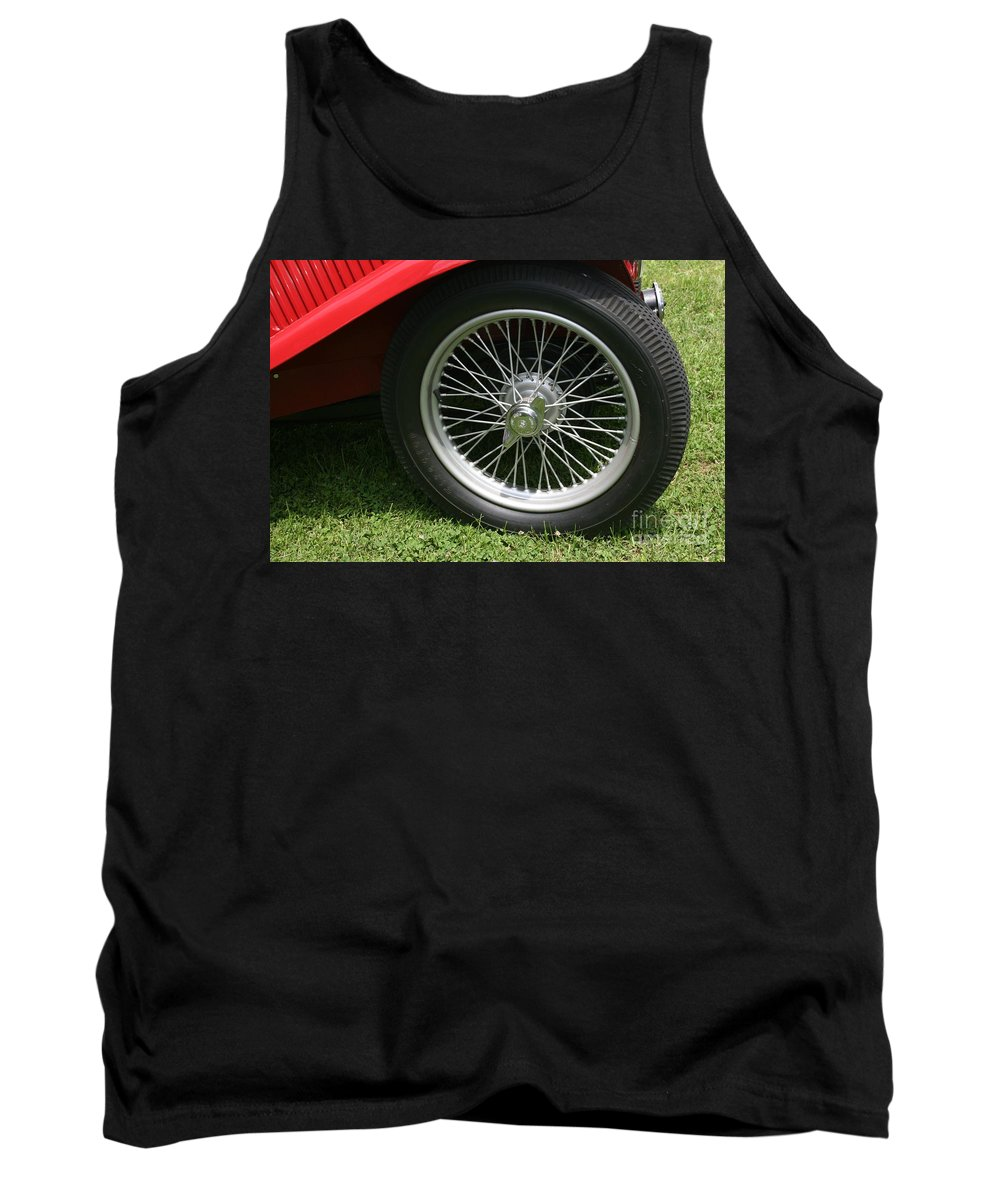Car Tank Top featuring the photograph Close-up Of Past by Dawn Downour