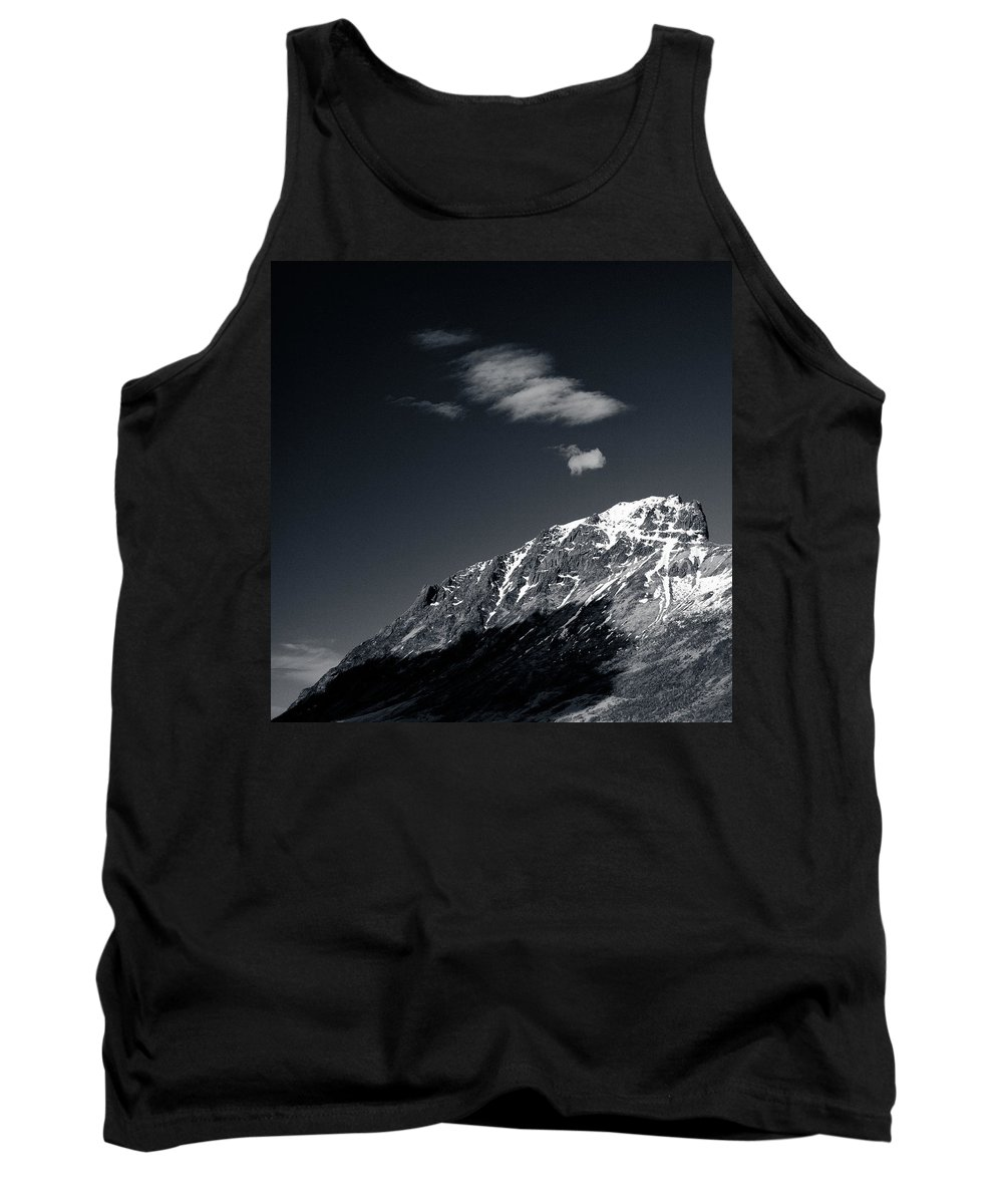 Mountains Tank Top featuring the photograph Cloud Formation by Dave Bowman