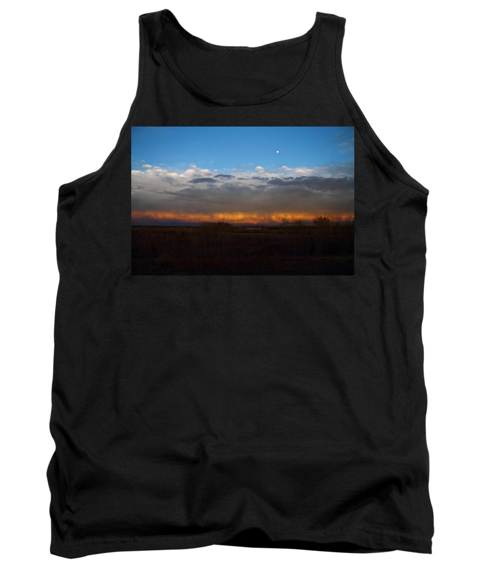 Weather Tank Top featuring the photograph Cloud Spectrum by Marcelo Albuquerque