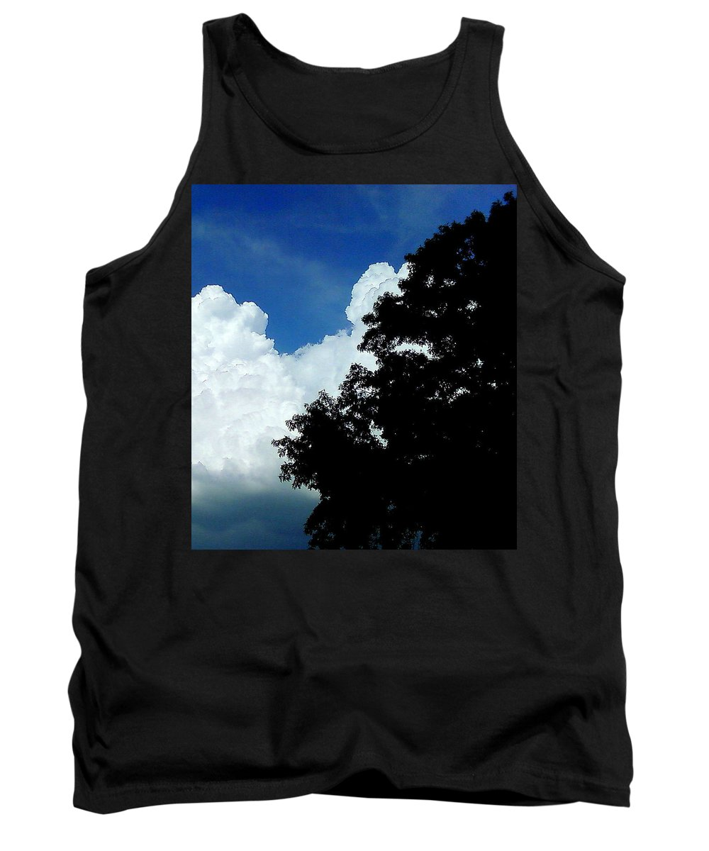 Clouds Tank Top featuring the photograph Clouds by Cindy New
