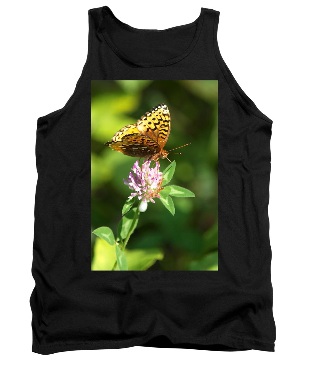Nature Tank Top featuring the photograph Clover Walker by Crystal Massop