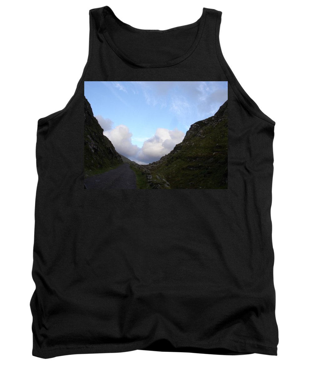 Tank Top featuring the photograph Clowdy Drive by Kelly Mezzapelle