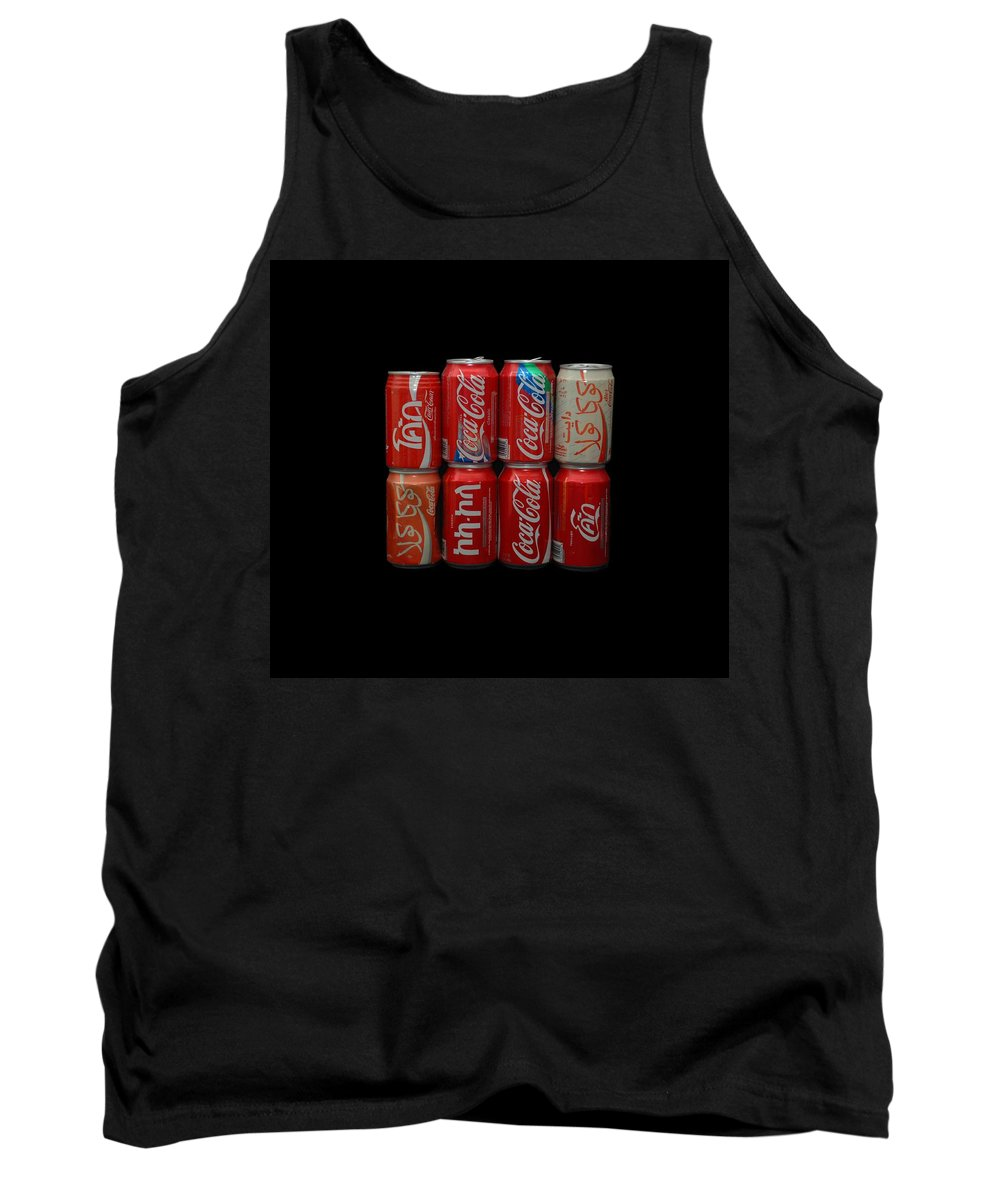 White Tank Top featuring the photograph Coca Cola by Rob Hans