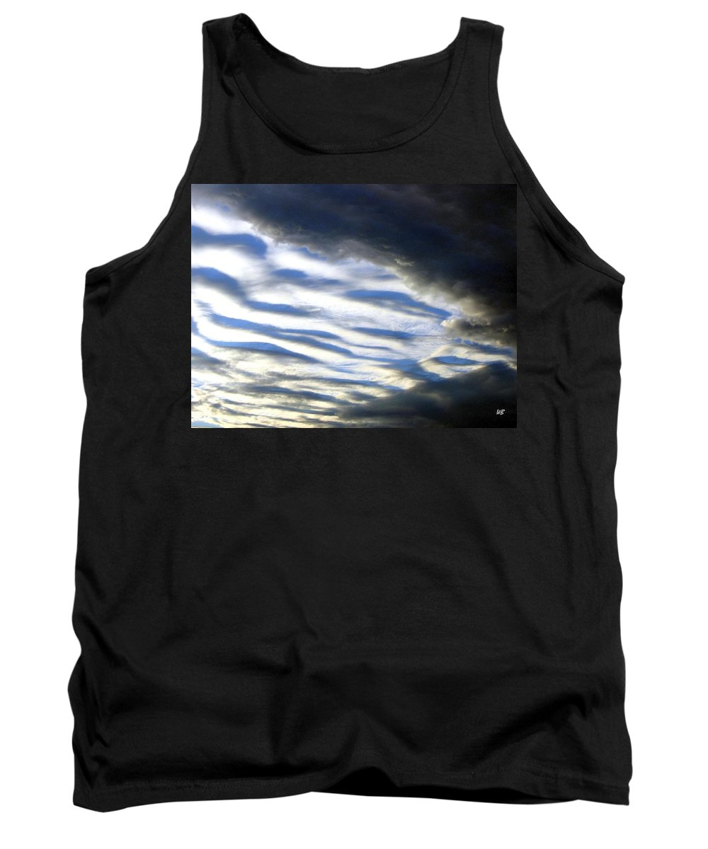 Storm Clouds Tank Top featuring the photograph Collision by Will Borden