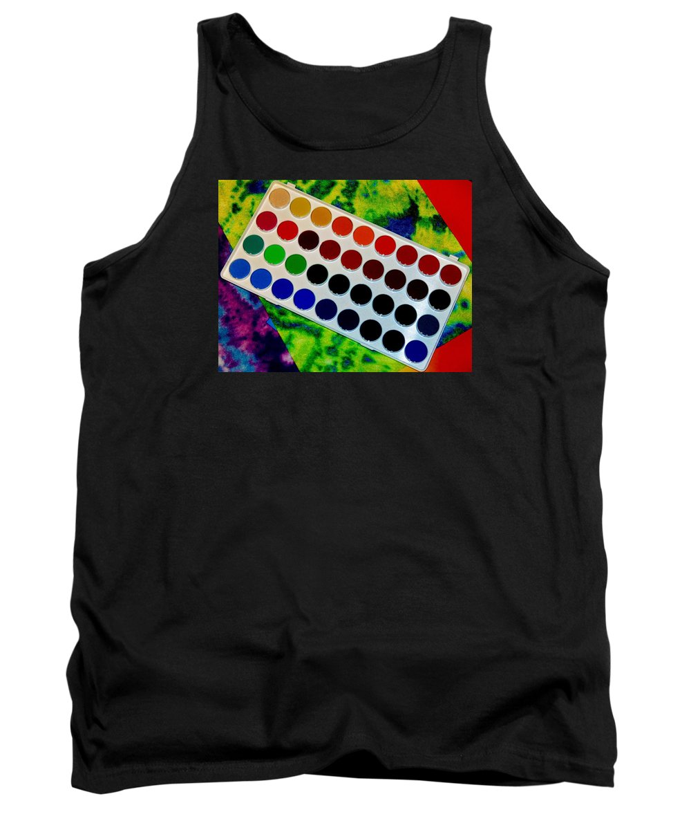 Michelle Tank Top featuring the photograph Color Palette by Michelle McPhillips
