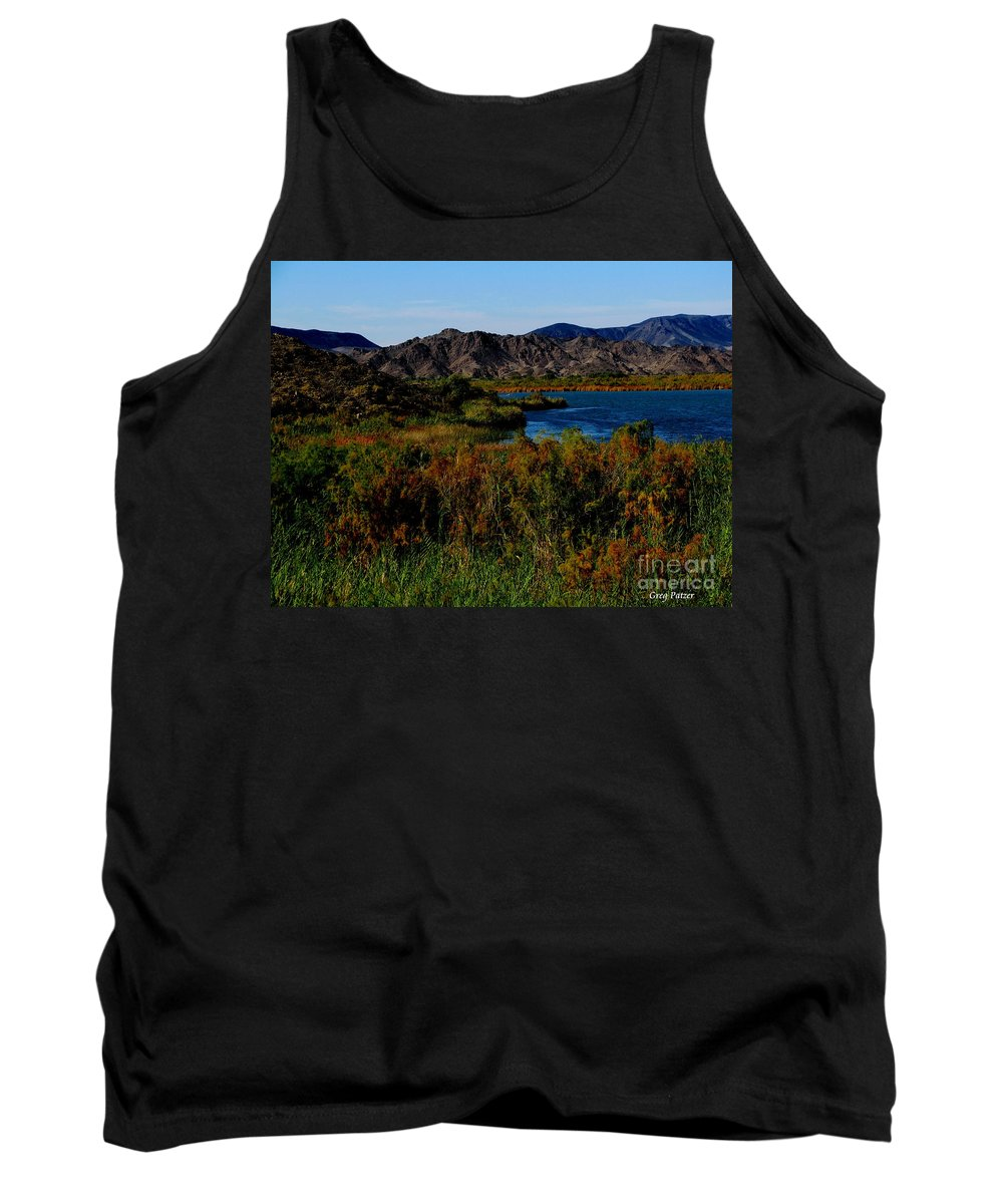 Patzer Tank Top featuring the photograph Colorado River by Greg Patzer