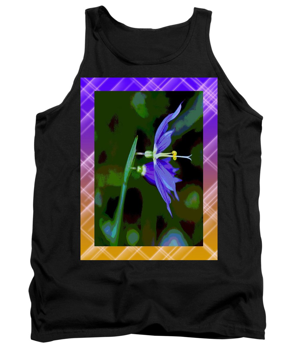 Nature Tank Top featuring the photograph Colored World by Ben Upham III