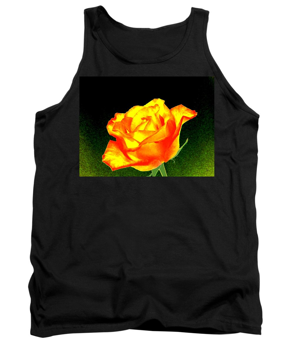 Photo Design Tank Top featuring the digital art Colormax 4 by Will Borden